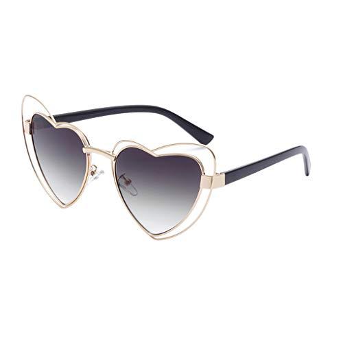 YULAND Sonnenbrille, Unisex Mode Retro Brille Sportbrille, Frauen Männer Vintage Eye Sonnenbrillen Retro Eyewear Fashion Strahlenschutz