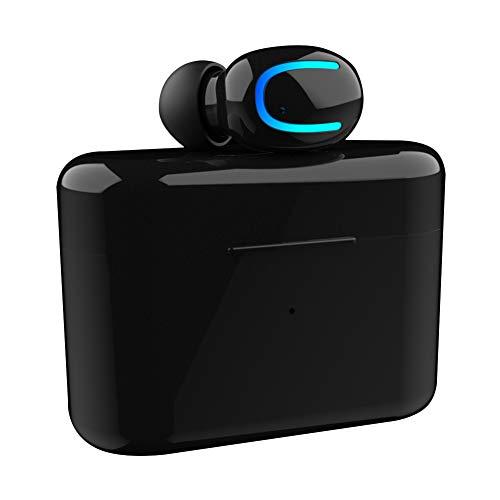LOBJA LbojailiAi Q26 Mini Wireless Bluetooth Earphone in-Ear Mic Headphone with Charging Box Nero