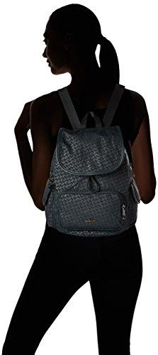 Zaino Kipling Damen City Pack S, Grün 27x33.5x19 Cm (dk Smeraldo Emb)