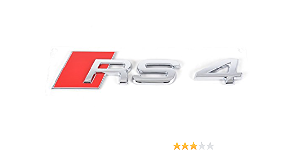Audi Original Rs4 Schriftzug Audi Rs4 Schriftzug Emblem Hinten 8d9853740 2zz Auto