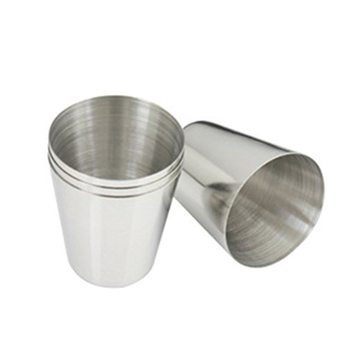 leading-star 1 oz 35ml Stainless Steel Wine Drinking Shot Glasses Barware Cup...