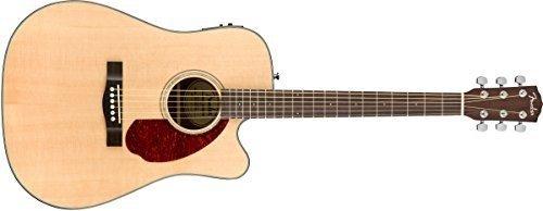 Fender CD-140SCE Natural + Estuche