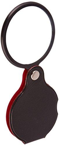 SE mf2055C Taschenlupe 5,1cm faltbar, schwarz (Rot-licht-digital-wand-uhr)