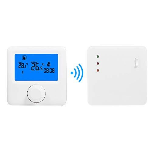 ChaRLes Lcd Wireless Digital Thermostat Rf Heizung Programmierbar Thermostat Thermometer Für Elektrische Heizungssystem