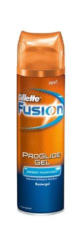 Gillette-schaum (Gillette Fusion ProGlide Rasiergel Feuchtigkeit 200 ml, 6er Pack (6 x 200 ml))