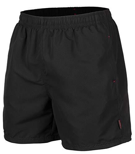 Zagano Adam Lipski Herren Badeshort, 5013.F Black, Gr. L/Badehose/Badeshorts/Beach-Shorts/Bermuda-Shorts/Freizeit-Hose