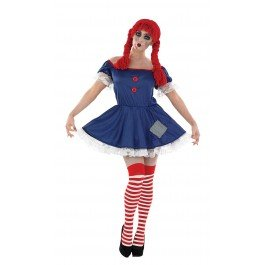 Adult Rag Doll Adult Womens Halloween -