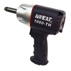 AirCat (ACA1000TH-2) 1/2 Drive Composite Impact Wrench with 2 Anvil by AirCat - Aircat 1/2
