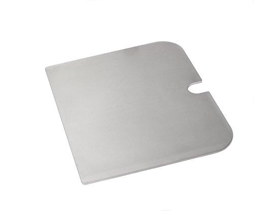 Edelstahl Grillplatte, Griddle-Plate für Weber - Grillzubehör Zifa