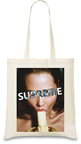 Nacktes Mädchen Erotisch - Nude Girl Erotic Custom Printed Tote Bag| 100% Soft Cotton| Natural Color & Eco-Friendly| Unique, Re-Usable & Stylish Handbag For Every Day Use| Custom Shoulder Bags By