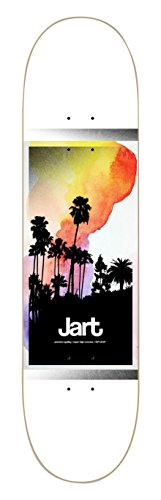 Jart Painting HC Deck Tabla de Skateboard, Unisex Adulto, Blanco, 7.87""