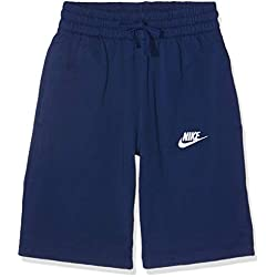 Nike Kid's Boys Sportswear Short Blue Void/White, Medium