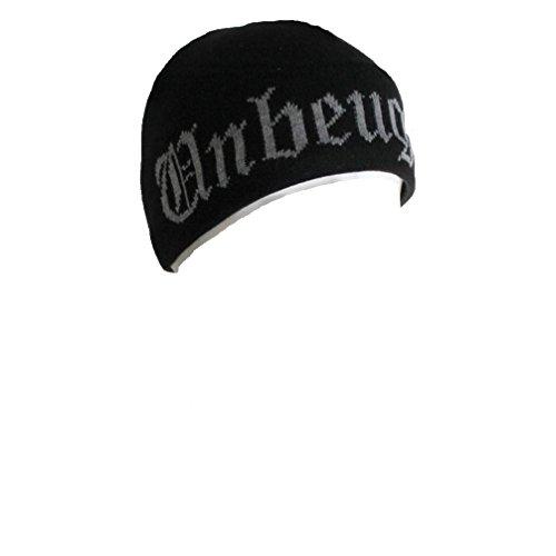 Böse Buben Club Unbeugsam Beanie Hat Mütze Kappe Tattoo Gothic Schwarz (Hat Böse Das)