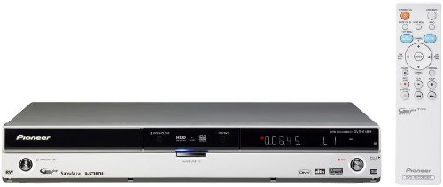 Pioneer DVR 645 H S DVD- und Festplatten-Rekorder 250 GB (DivX-zertifiziert, Upscaling 1080i, HDMI) silber