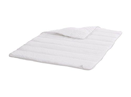 Dormiluna Hygiene Steppbett 155 x 220 cm für Allergiker, schadstofffreie Bettdecke mit Öko-Tex und Sanitized Ausstattung, perfekter Schutz vor Milben und Bakterien