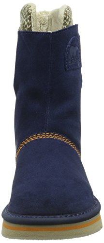 Sorel The Campus, Boots femme Bleu - Blau (Collegiate Navy 464)