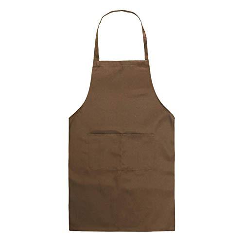 Delantal cocina color puro mujer hombre, chef, camarero
