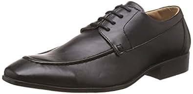 BATA Men's Qchas Black Formal Shoes - 10 UK/India (44 EU)(8216010)