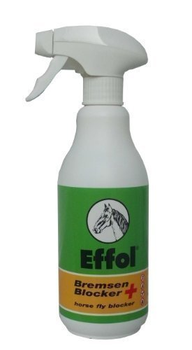 Effol Bremsen Blocker, 500 ml gegen Fliegen, Bremsen, Mücken Sprühflasche