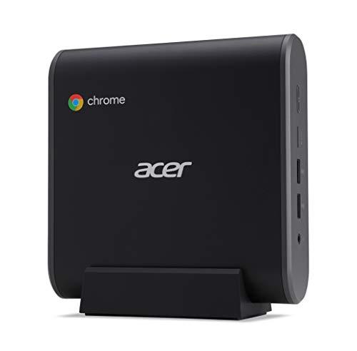 Acer Chromebox CXI3 - Miniordenador - 1 x Celeron 3867U / 1.8 GHz - RAM 4 GB - SSD 32 GB - HD Graphics 610 - GigE - WLAN: 802.11