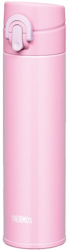 thermos-vacuum-insulation-mobile-phone-mug-one-touch-open-type-04l-light-pink-jni-401-lp-japan-impor