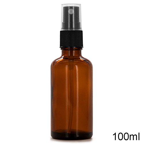 Glas-spray-flaschen (Glas Spray ätherisches Öl Flasche, woopower 5/15/50/100ml Beauty Bernstein Glas Flaschen ätherisches Öl Mist Spray Container Fall Flasche)
