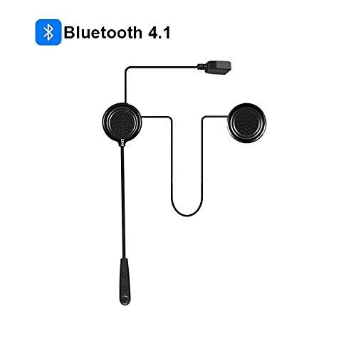 EJEAS E1 BT - Auricolari Bluetooth 4.1 per casco da moto e s
