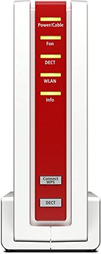 AVM FRITZ!Box 6590 Cable WLAN AC + N Router (DOCSIS-3.0-Kabelmodem, Dual-WLAN AC+N mit 1.733 Mbit/s (5 GHz) + 800 MBit/s (2,4 GHz), VoIP-Telefonanlage) - 4