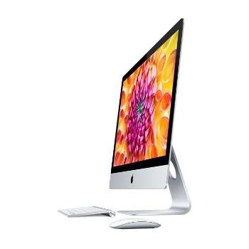 Apple iMac 27-inch Desktop (Intel Core i5 3.4 GHz, 8 GB RAM, 1 TB HDD, Nvidia GeForce GT, OS X Mountain Lion) - 2013