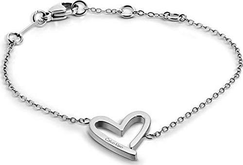(Calvin Klein Damen-Charm-Armband Edelstahl KJ2XMB000100)