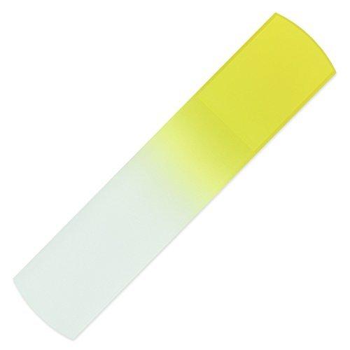 Râpe pédicure | Lime en verre fait main pour les pieds, véritable verre trempé tchèque, garantie à vie | Soin des pieds, anticallosités, Râpe à peau dure, peau morte, peau rugueuse, peau craquelées