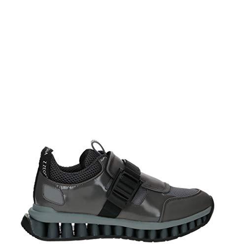 Z ZEGNA Luxury Fashion Herren LHCMIA4382XGRY Grau Sneakers | Herbst Winter 19