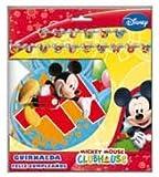 Mickey Mouse - Guirnalda feliz cumpleaños Clubhouse (Verbetena 014000250)