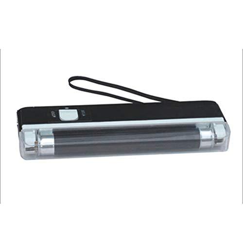 Kacanna Tragbare Handheld Geldscheinprüfer UV Lampe Währung Hinweis Detektor LED Taschenlampe