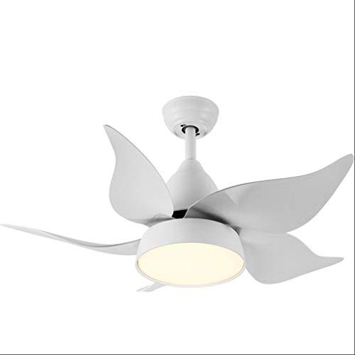 Ventola a soffitto di alta qualità moderno led da 42 pollici ventilatori a soffitto con luci camera da letto bambino ventilatore a soffitto fan fan fan de techo risparmio energetico (color : white)