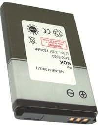 Batterie pour NOKIA 6086, 3.7V, 1000mAh, Li-ion