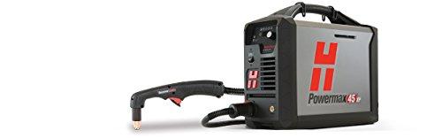 hypertherm 088133Serie powermax45XP Stromversorgung mit CPC Port und Spannungsteiler, 75Grad Hand Taschenlampe, 230V, 15,2m führen