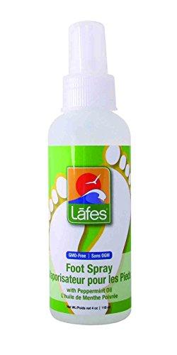 Lafe's Foot Spray, Peppermint, 4 Ounce - Peppermint Foot Spray