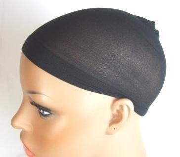 Sous-bonnets ultra fins pour perruque (Noir, lot de 2)