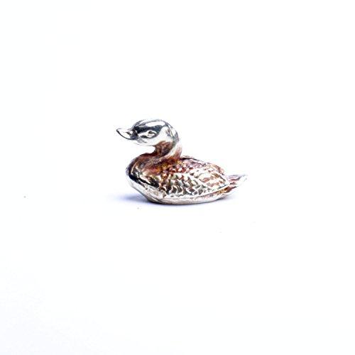 Canard une création réaliste en métal pour collection de vitrine convient pour tous âges fabriqués à la main en France.