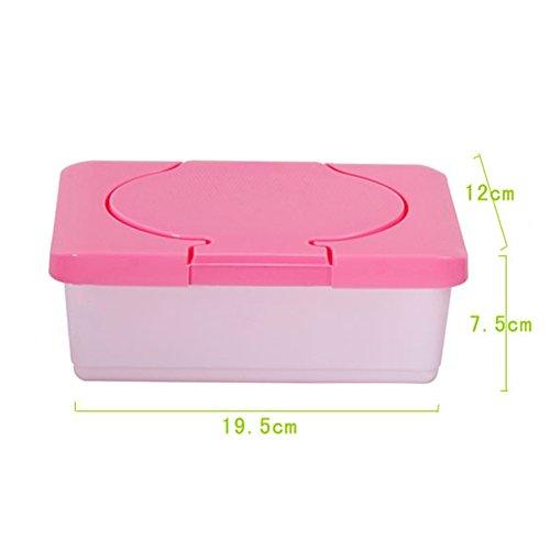 Taschentuchhalter, tragbare Baby-Feuchttücher, aus Kunststoff, Feuchttücherbox für Zuhause