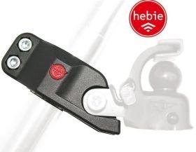 Hebie Fahrrad Adapter für Kugelkupplung F1 Fahrrad Anhängerküpplung - 01250209