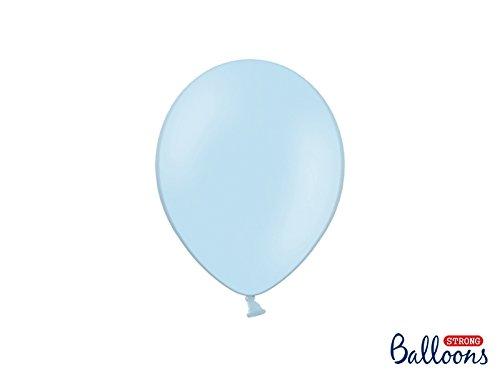 Balloons Strong 100 pz PALLONCINI LATTICE 23 CM CELESTE CIELO BABY PASTELLO