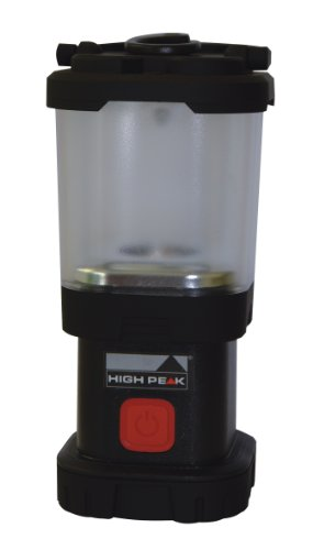 High Peak Led Laterne Trek Light, Schwarz, 41482 (Peak Led)