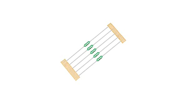 sourcing map Pico Fuse 250V 3.15A Slow Blow Axial Leaded 3mm x 62mm for Telecom Communication 5pcs