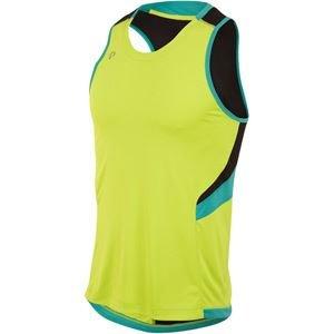 PEARL IZUMI Pursuit Singlet Herren Small Lime Punch/Viridian Green - Pearl Izumi Triathlon Shorts