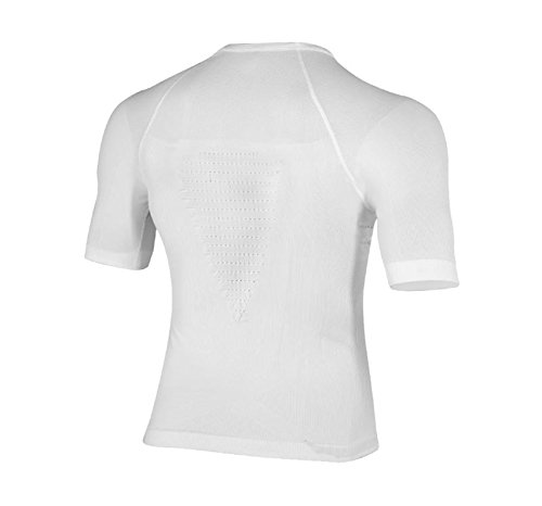 X-Bionic Erwachsene Funktionsbekleidung Man Energizer Summerlight UW Shirt SH SL White