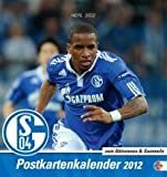 FC Schalke 04 2012. Sammelkarten Postkartenkalender