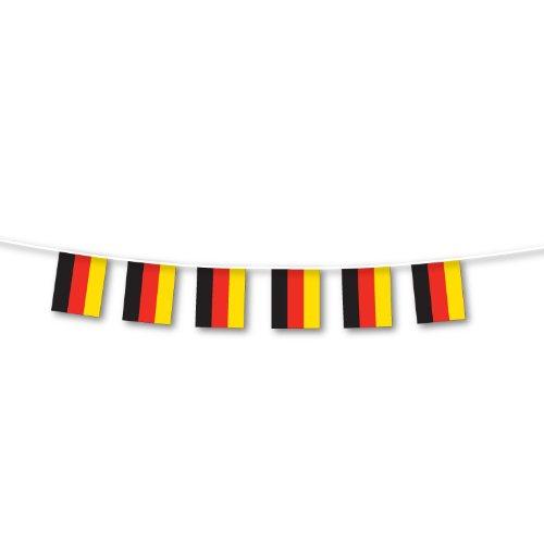 Banderole de décoration à fanions drapeaux allemand grande taille - 7m de long