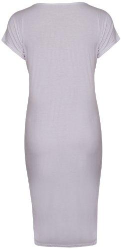 Purple Hanger Damen Kleid Weiß - weiß
